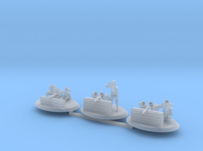 MG Crew Set 3d printed