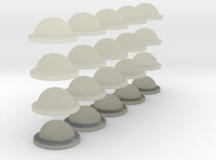 1-56 Brodie Helmet Set1 3d printed