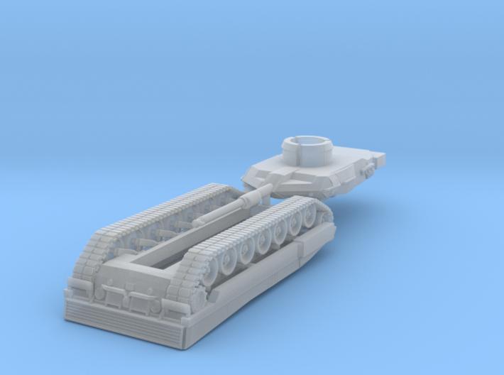 Leopard 2a7 Scale 1:200 3d printed