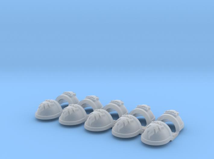 Ember Flames - Gen7:Standard Shoulder x10 3d printed