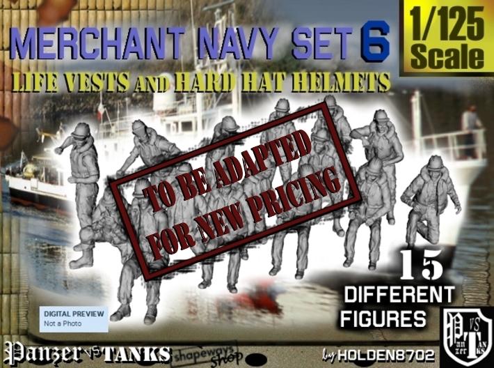 1-125 Merchant Navy Set 6 3d printed