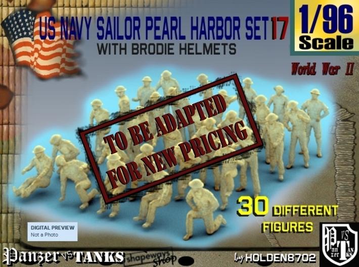 1-96 US Navy Pearl Harbor Set 17 3d printed