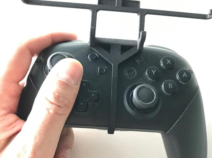 Nintendo Switch console & controller - Front Rider 3d printed Nintendo Switch Pro controller - Front Rider - Barebones