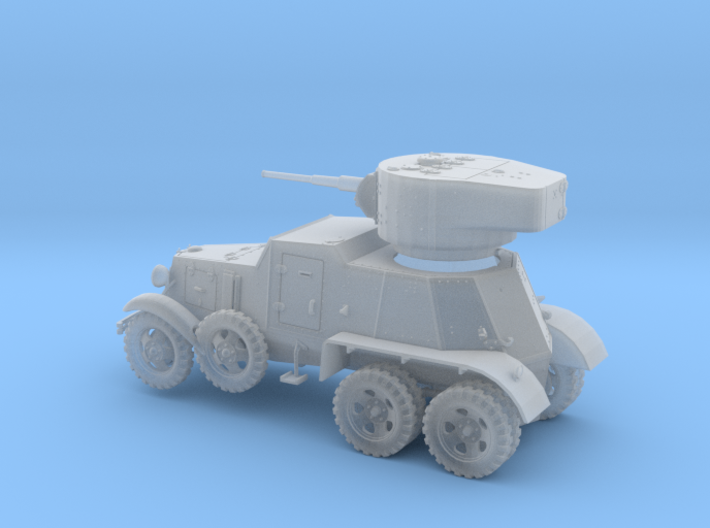 VBS001-56 Soviet armoured vehicle BA-6 3d printed