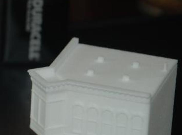 Old Tyme Store - Zscale 3d printed Printed in WSF