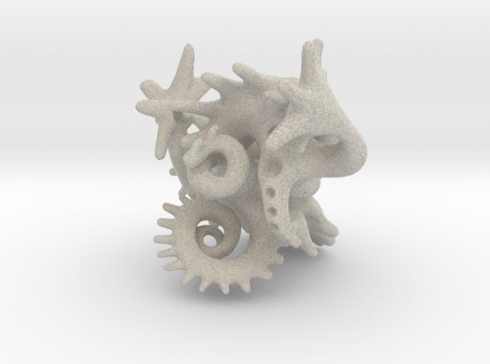 Ancestor  (object 11 blend) 3d printed