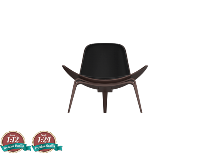 Miniature CH07 Shell Chair - Hans. J. Wegner 3d printed Miniature Shell Chair - Hans. J. Wegner