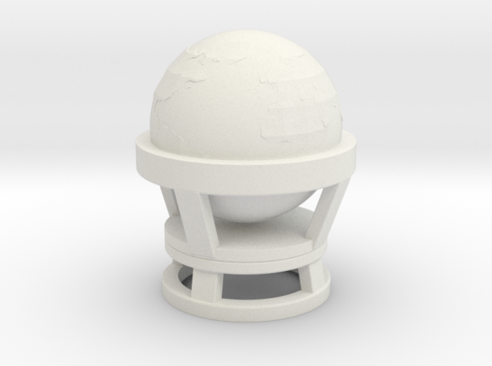 Commander's Office Globe (Space: 1999), 1/30 3d printed