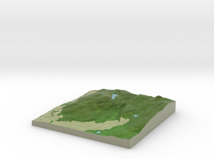 Terrafab generated model Mon May 08 2017 23:00:04 3d printed