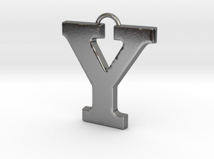 Y Pendant 3d printed