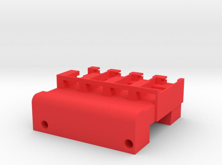 Neoden 4-Gang, 12mm feeder block 3d printed