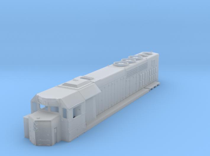N Scale GP38h-3 3d printed