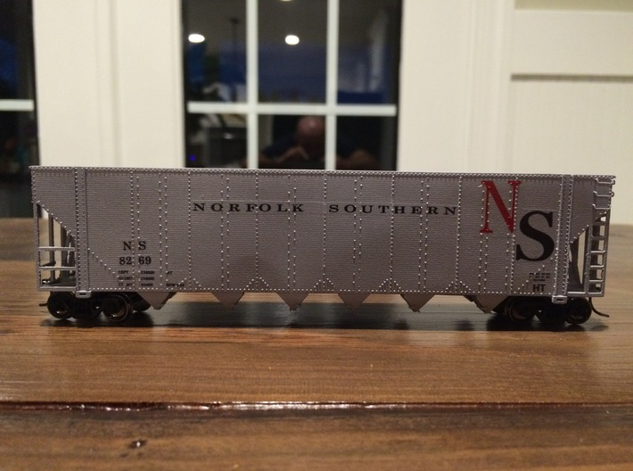 NS, SOU, CG, LN, RI, GMO   Greenville chip hopper  3d printed Car with custom decals