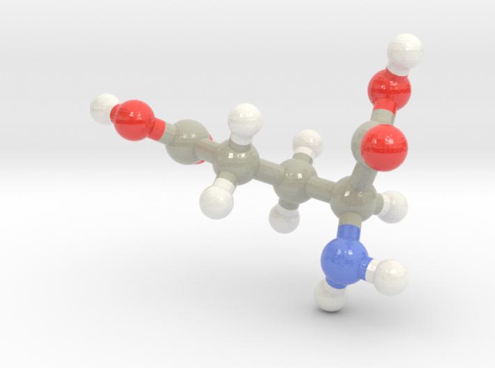 Glutamic Acid (E) 3d printed