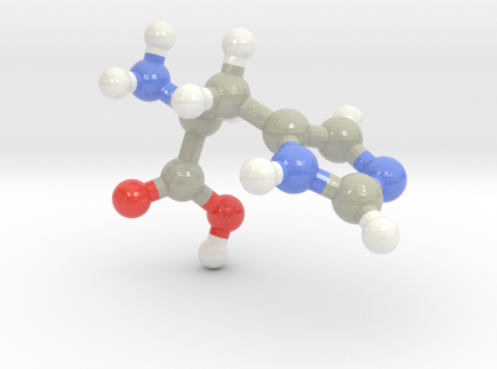 Histidine (H) 3d printed