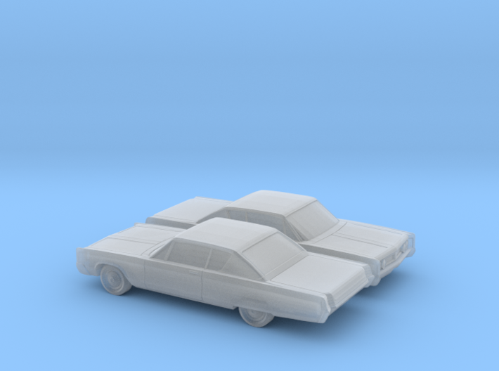 1/160 2X 1967 Chrysler Newport Coupe 3d printed