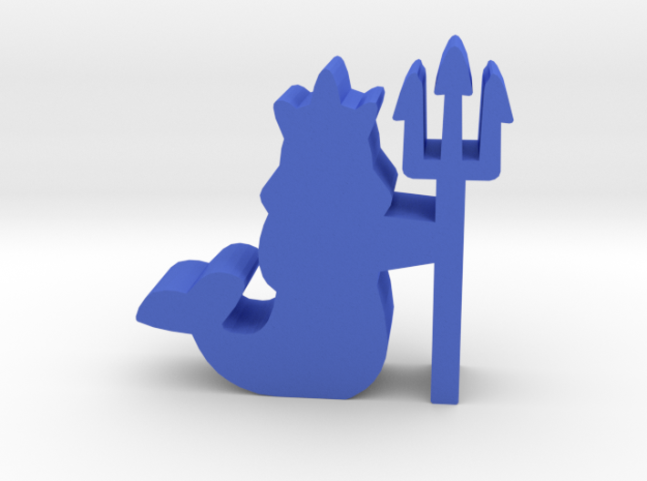 Game Piece, Merfolk Queen 3d printed
