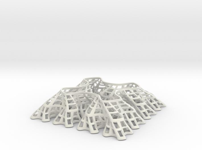 Sierpinski Square-Filling Fractal 3d printed