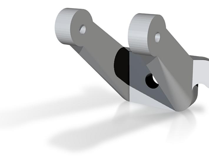 H9 1/4 Scale Cub tailwheel bracket 3d printed