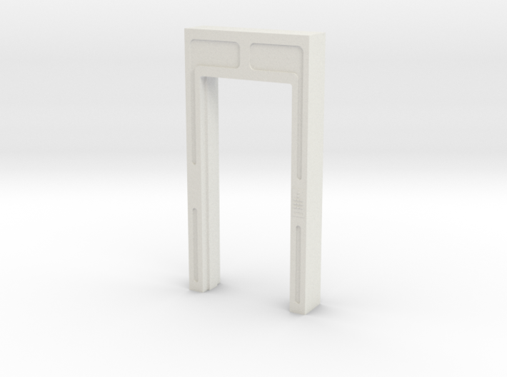 Door, Single Open No Threshold (Space: 1999), 1/30 3d printed