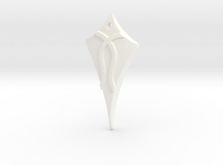 Flow Pendant 1 3d printed
