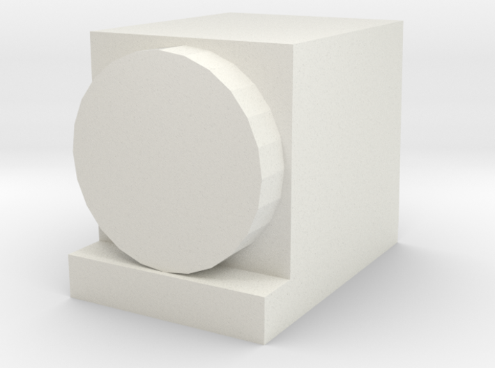 Headlamp for OO / HO Salty Dockside Diesel 3d printed