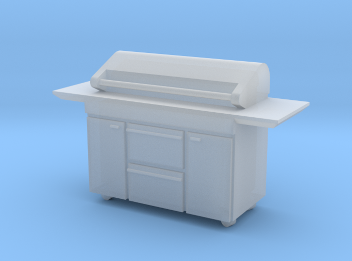 1:64 Barbecue BBQ 3d printed