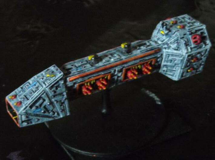 VA304 Furious Burn Battle Carrier 3d printed Painted model