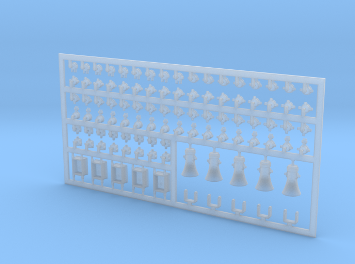 Diverse E-Teile #1 in 1:40 3d printed