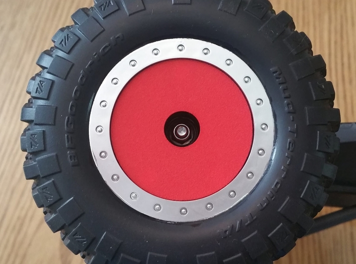 Salvas Mudboss RC Oval Wheel Dots Traxxas Raptor 3d printed