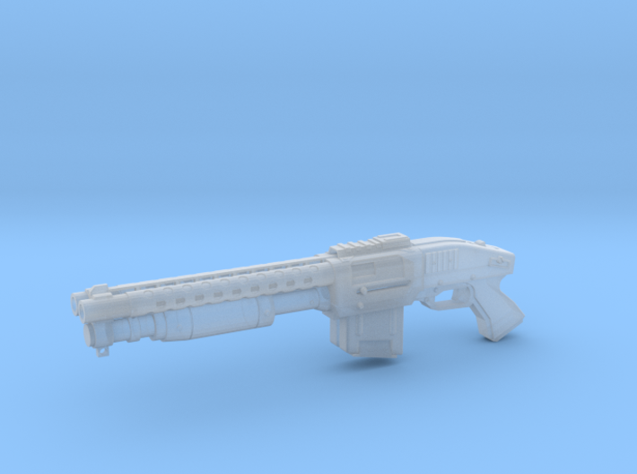Zx76 Double Barrel Shotgun 1:6 scale 3d printed
