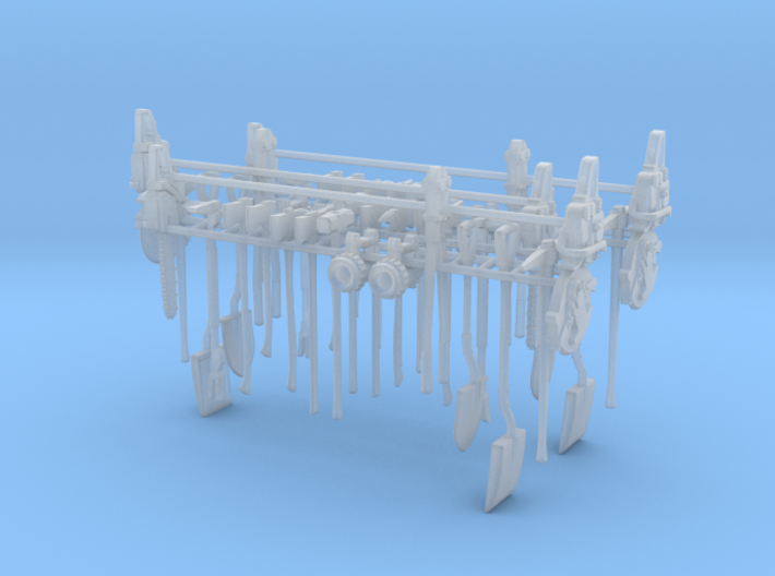1/24 Assorted Tools UPDATED Set 02-01 3d printed