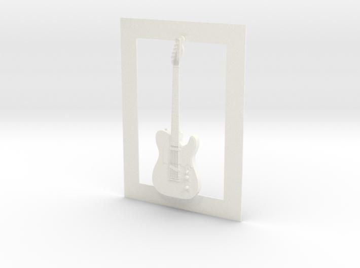 Telecaster guitar for photo frame 3d printed