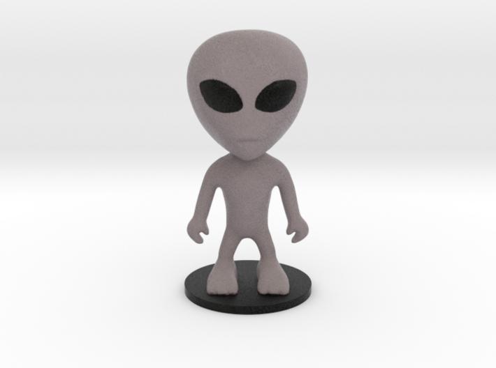 Little Alien 3d printed
