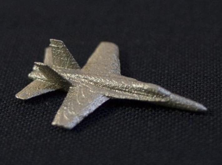 F18e Jet Aircraft - Monopoly Metal Model 3d printed SS Top