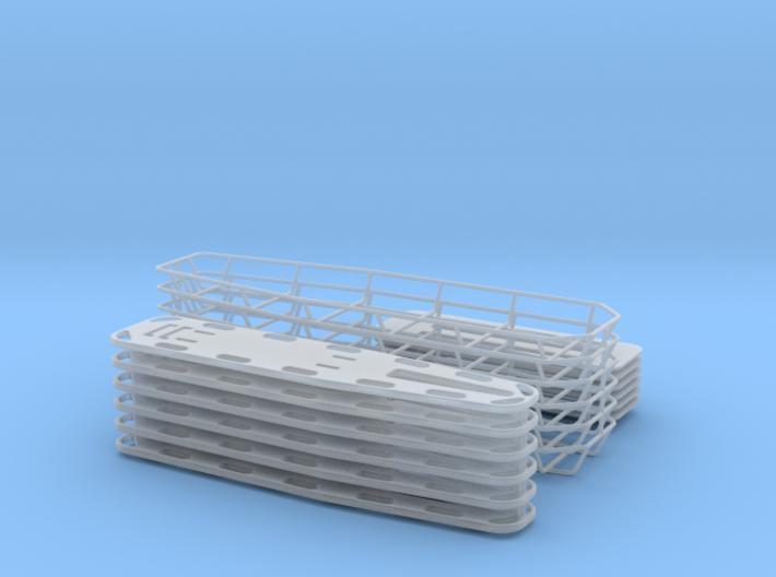1-18 Spine Board Baskets 6ea 3d printed