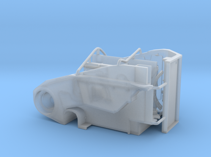 M110 driver compartment 3d printed