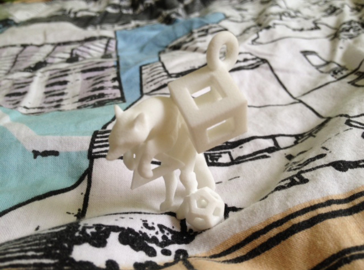Fox In Polyhedrons Set 3d printed