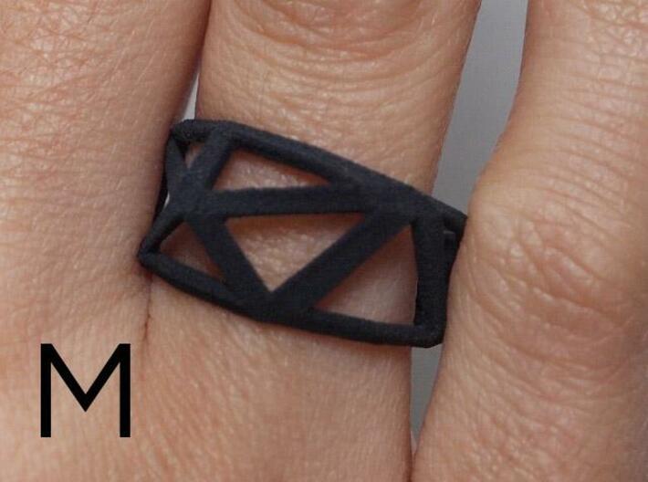 Comion ring medium 3d printed Ring zoom