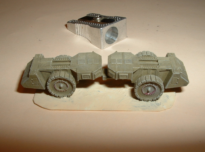 Krupp Räumer S Mineclearing Vehicle 1/285 / 6mm 3d printed