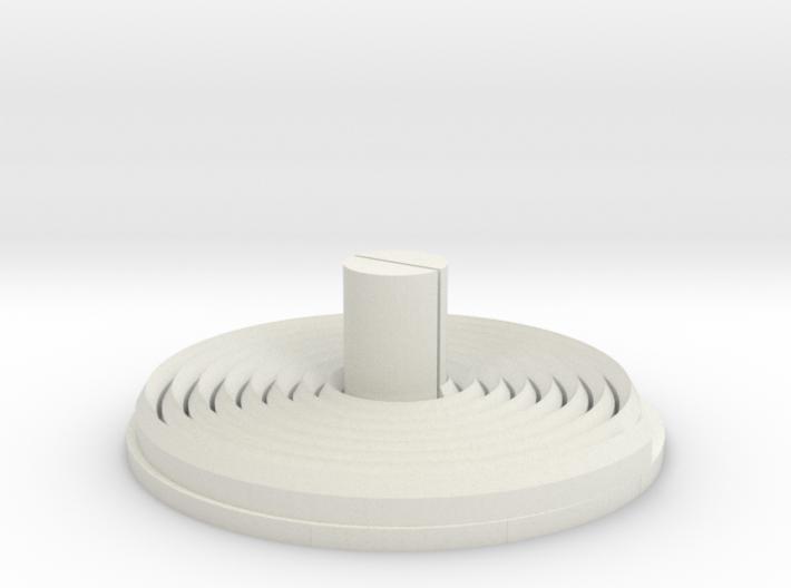 Minolta 16 Processing Tank Reel Bottom 3d printed