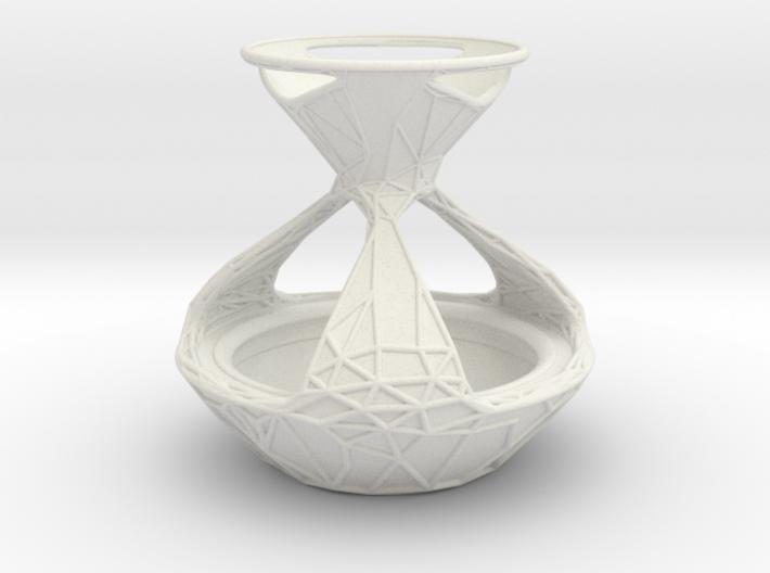 Tealight Planter 3d printed