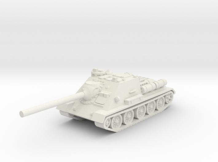 SU-85 tank (Russia) 1/87 3d printed