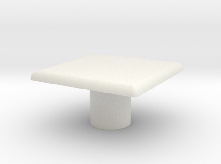 Table, Ara, Square (Space: 1999), 1/30 3d printed