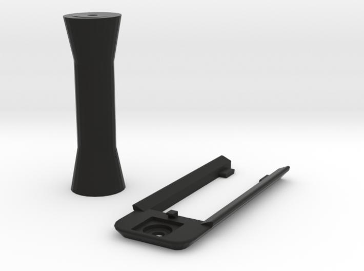 DJI Mavic Pro Mount & Riser for Samsung Gear 360 3d printed