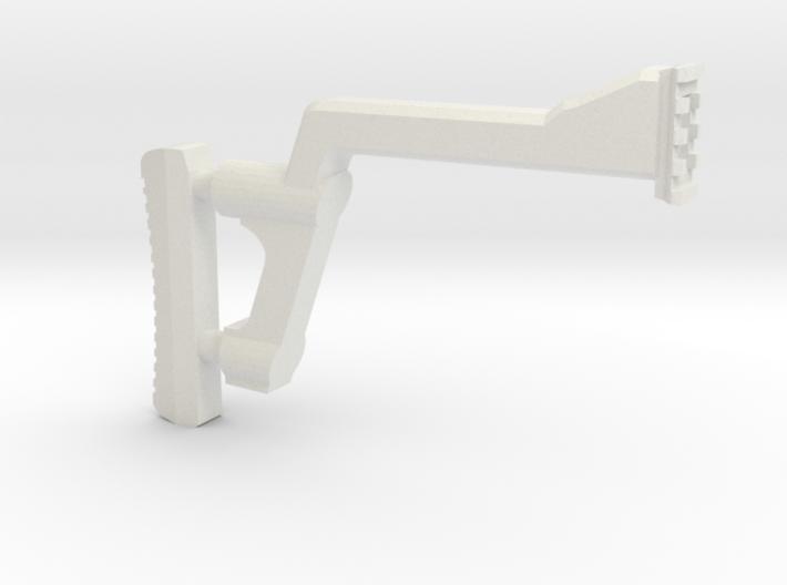 GMU Shoulder Stock (Long Version) 3d printed