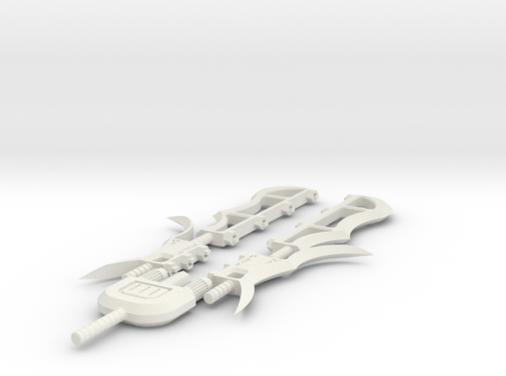 5 Piece Sword 3d printed