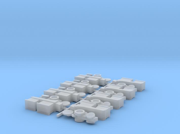 Planter Row Units (8) 3d printed