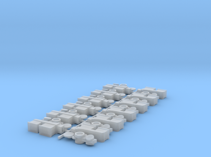 Planter Row Units (12) 3d printed
