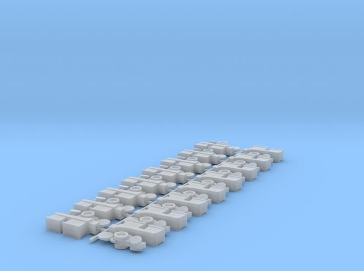 Planter Row Units (16) 3d printed